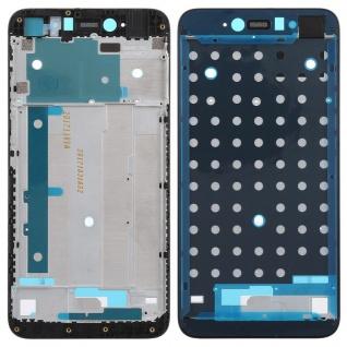 Gehäuse Rahmen Mittelrahmen Deckel für Xiaomi Redmi Note 5A Schwarz Reparatur