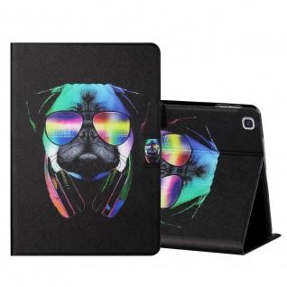 Für Samsung Galaxy Tab A7 T500 2020 Motiv 5 Tablet Tasche Kunst Leder Hülle Etui