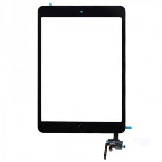 Touch Screen Display Schwarz Home Button IC Chip für Apple iPad Mini 3 Klebepad