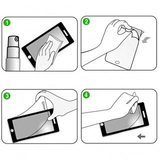 Hybrid TPU gebogene Panzerfolie Folie Weiß Schutz für Samsung Galaxy S9 G960F - Vorschau 4