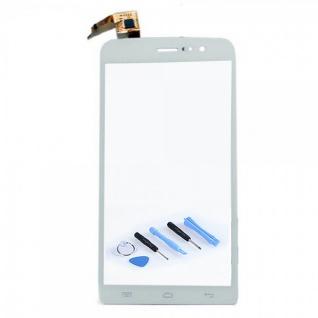 Reparatur Display TouchScreen Digitizer Weiß für Wiko Slide Flex Ersatzteil Neu
