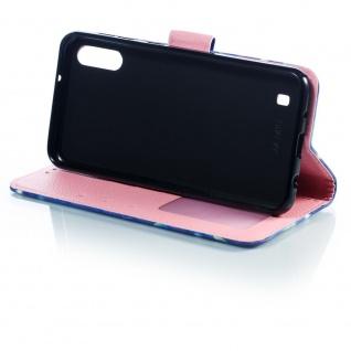 Für Samsung Galaxy A40 Kunstleder Tasche Wallet Motiv 34 Schutz Hülle Etuis Neu - Vorschau 4