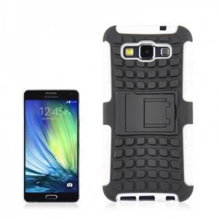 Hybrid Case 2 teilig Robot Weiß Cover Hülle für Samsung Galaxy A5 A500 A500F Neu