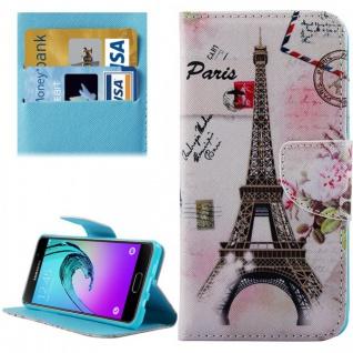 Bookcover Wallet Muster für Smartphones Tasche Hülle Case Etui Cover Zubehör Neu - Vorschau 4