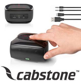 SoundBox Cabstone Bluetooth kabelloser Lautsprecher Dual-Subwoofer Touch Panel