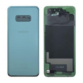 Samsung GH82-18452E Akkudeckel Deckel für Galaxy S10e G970F Klebepad Grün Ersatz