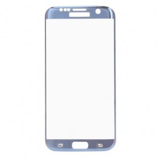 0, 3 mm H9 gebogenes Panzerglas Blau Folie für Samsung Galaxy S7 Edge G935 F