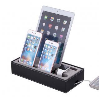 Docking Station Ladestation Tisch Ständer für iPad Pro Air Watch iPhone 7 6S Neu