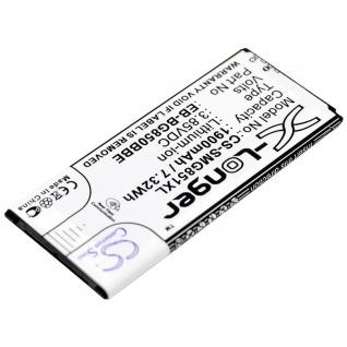 Akku Batterie Battery für Samsung Galaxy Alpha ersetzt EB-BG850BBC Ersatzakku - Vorschau 2