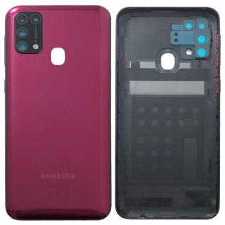 Samsung Akku Deckel Batterie Cover Galaxy M31 M315F GH82-22412B Red / Rot Ersatz