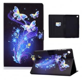 Für Lenovo Tab M10 Plus 10.3 Zoll X606F Motiv 10 Tablet Tasche Kunst Leder Etuis