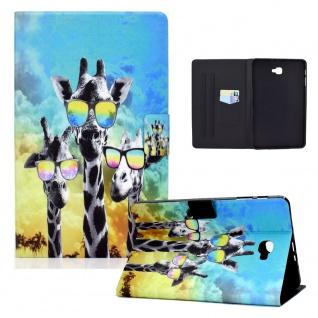 Für Samsung Galaxy Tab A 10.1 2016 Motiv 8 Tablet Tasche Kunst Leder Hülle Etuis