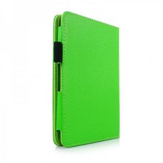 Schutzhülle Kunstleder Tasche Grün für Amazon Kindle 6 Version 2014 Case Etui