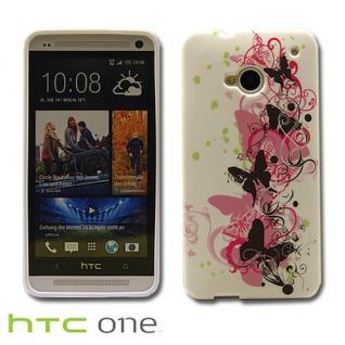 Silikonhülle Design Motiv Muster Hülle Case Schale Cover für HTC Handys Neu Top - Vorschau 4