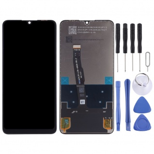 Für Huawei P30 Lite Display Full LCD Touch Einheit Ersatzteil Reparatur Schwarz - Vorschau 2