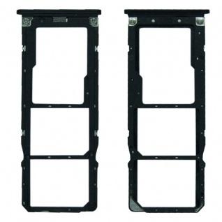 Für Xiaomi Mi A2 Lite / Redmi 6 Pro Karten Halter Sim Tray Schlitten Schwarz Neu