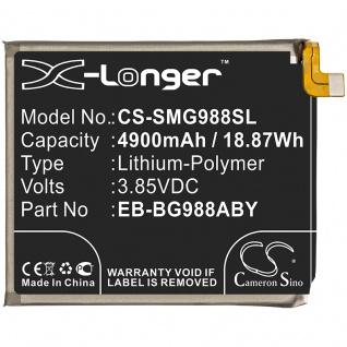 X-Longer Ersatzakku Akku Batterie für Samsung Galaxy S20 Utra G988F Battery Accu