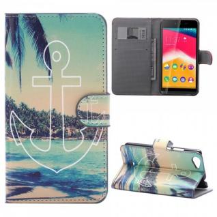 Schutzhülle Muster 46 für Wiko Rainbow Jam Bookcover Tasche Hülle Wallet Case
