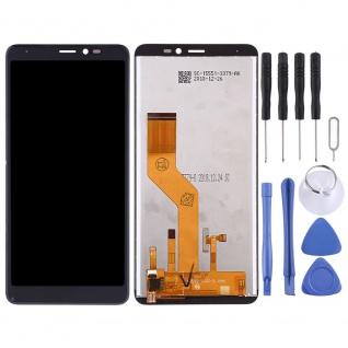 Für Wiko Y60 Display LCD Einheit Touch Screen Ersatz Reparatur Schwarz Werkzeug