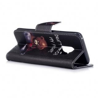 Tasche Wallet Book Cover Motiv 30 für Samsung Galaxy S9 G960F Hülle Case Etui - Vorschau 2