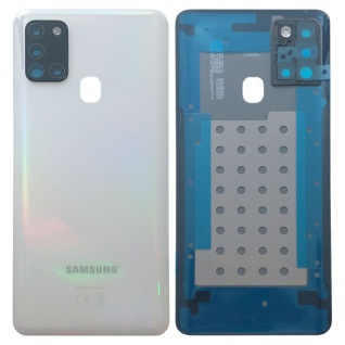 Samsung Akkudeckel Akku Deckel Batterie Cover für Galaxy A21s A217F Weiß Neu