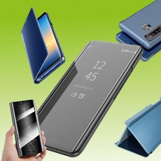 Für Sony Xperia 5 II 2. Gen View Smart Cover Schwarz Handy Tasche Etuis Wake UP