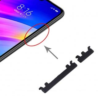 Für Xiaomi Redmi 7 Sidekeys Seitentasten Schwarz Ersatzteil Zubehör Reparatur