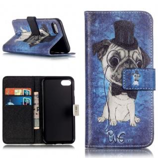 Schutzhülle Muster 65 für Apple iPhone 7 Bookcover Tasche Case Hülle Wallet Etui