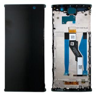 Sony Display LCD für 78PC5100040 Xperia XA2 Plus Reparatur Ersatz + Rahmen Grün