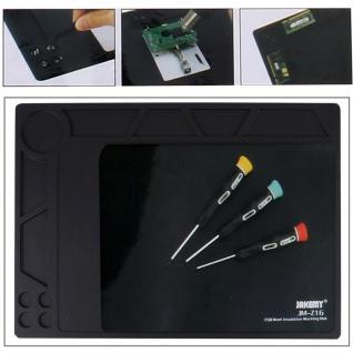 Reparatur Handy Werkzeug Anti Rutsch Hitzebeständige Arbeitsmatte Ablage Fächer