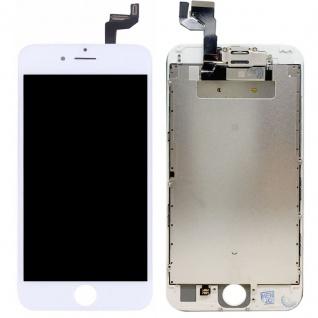 All in One Display LCD Komplett Einheit Touch kompatibel Apple iPhone 6S Weiß