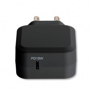 Universal Ladegerät 18W USB Typ C + Lightning 50% schneller Lade Stecker Kabel - Vorschau 2
