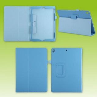 Für Apple iPad 10.2 2019 / 2020 7. / 8. Blau Kunst-Leder Hülle Cover Tasche Etui