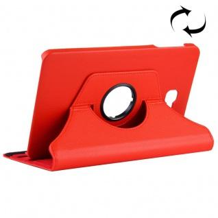 Schutzhülle 360 Grad Rot Tasche für Samsung Galaxy Tab A 10.1 T580 / T585 Cover