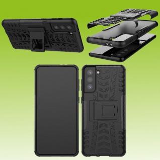 Für Samsung Galaxy S21 Plus G996B Outdoor Schwarz Handy Tasche Etuis Hülle Cover