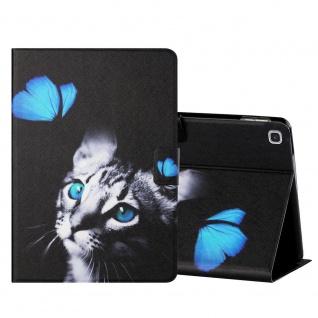 Für Samsung Galaxy Tab A 10.1 2019 Motiv 3 Tablet Tasche Kunst Leder Hülle Etuis