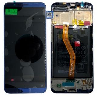 Huawei Display LCD Rahmen für Honor View 10 Service Pack 02351SXB Blau Reparatur