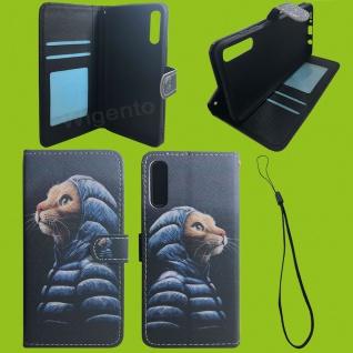 Xiaomi Redmi Note 9S/9 Pro Kunst-Leder Handy Tasche Motiv 53 Hülle Case Cover