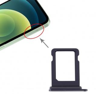 SIM Karten Halter für Apple iPhone 12 Schwarz Card Tray Ersatzteil Neu