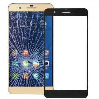 Displayglas Glas Schutz Schwarz für Huawei Honor 6 Plus Reparatur Ersatz Neu Top