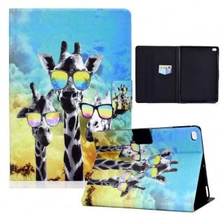 Für Apple iPad Air 1 / Air 2 Motiv 2 Tablet Tasche Kunst Leder Hülle Etuis Case
