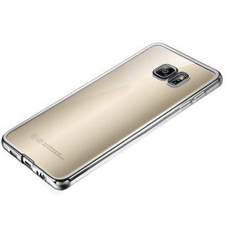 Premium TPU Schutzhülle Silber für Samsung Galaxy S7 Edge G935 G935F Tasche Case