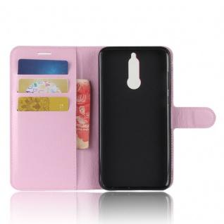 Tasche Wallet Premium Rosa für Huawei Mate 10 Lite Hülle Case Cover Etui Schutz - Vorschau 5
