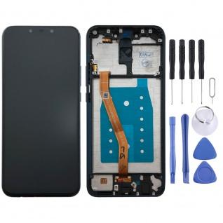 Für Huawei Mate 20 Lite Display Full LCD Touch mit Rahmen Reparatur Blau Ersatz