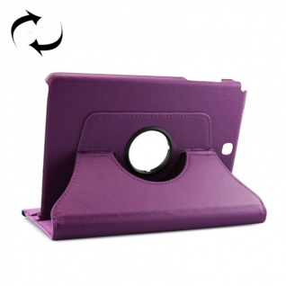 Schutzhülle 360 Grad Lila Tasche für Samsung Tab A 9.7 T555 T555N T550 Hülle Neu