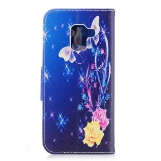 Tasche Wallet Premium Motiv 29 für Samsung Galaxy A8 2018 A530F Hülle Case Etui - Vorschau 4