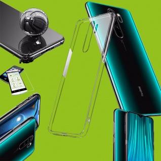 Für Xiaomi Redmi Note 8 Pro Silikon TPU Transparent + 0, 26 H9 Glas Tasche Etuis
