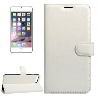 Schutzhülle Weiß für Apple iPhone 8 und 7 4.7 Zoll Bookcover Tasche Case Cover