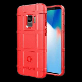 Für Samsung Galaxy Note 9 N960F Shield Series Outdoor Rot Tasche Hülle Cover Neu