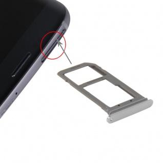 Für Samsung Galaxy S7 Edge G935 ersetzt GH98-38787C Simkarten Halter Tray Silber